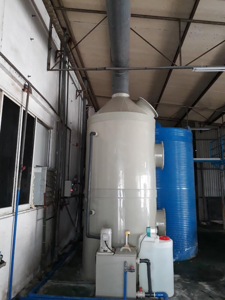 Xử lý khí thải Chương Đỉnh