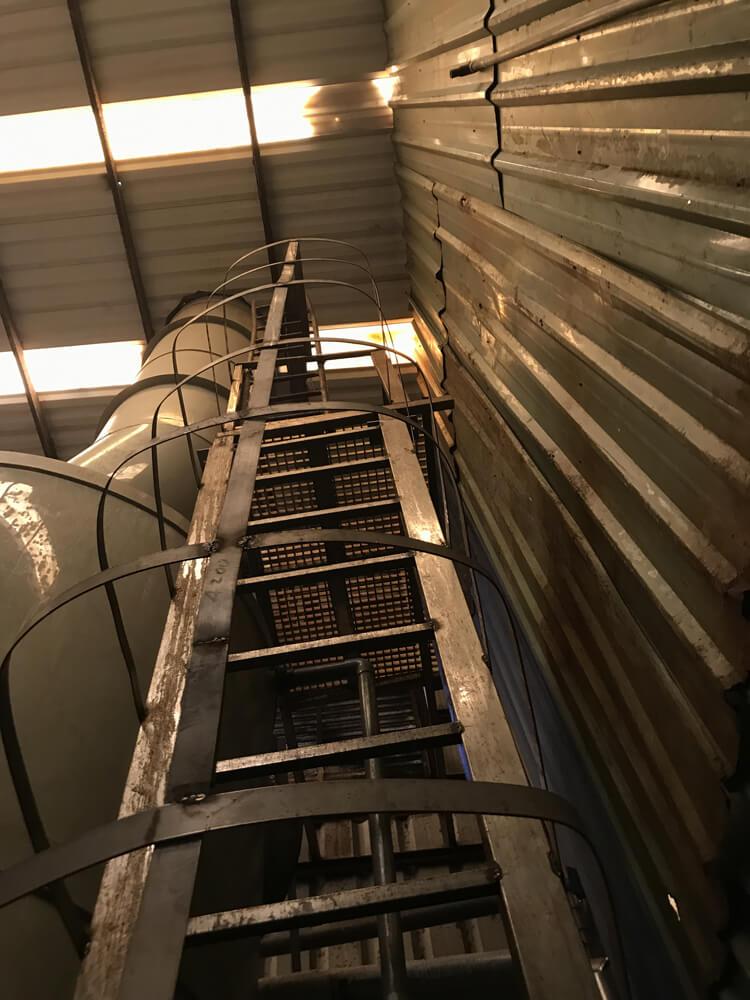 Tháp xử lý khí thải chuyền xi mạ công ty WANGSHENG