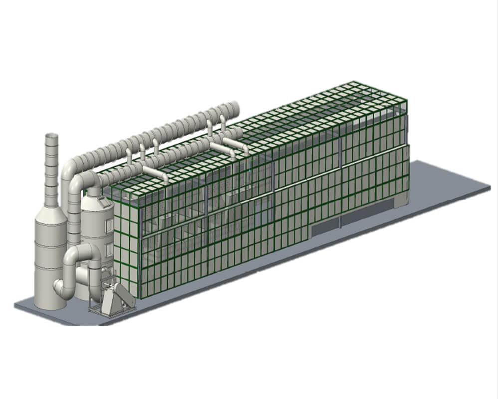 Tháp xử lý khí thải