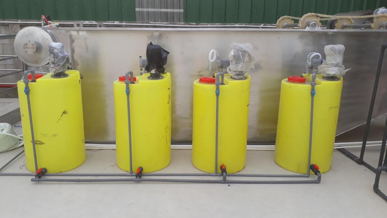 Hệ thống nước mềm tại khu công nghiệp Rạch Bắp Bình Dương