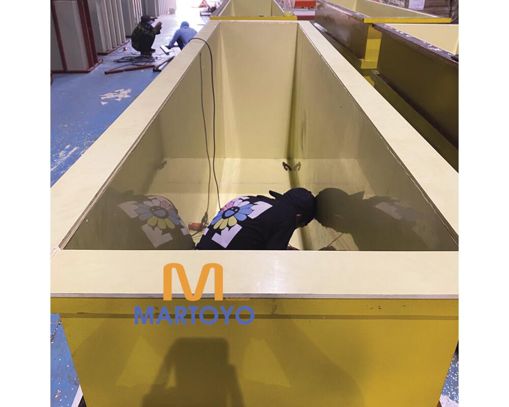Bể rửa ngành Xi Mạ